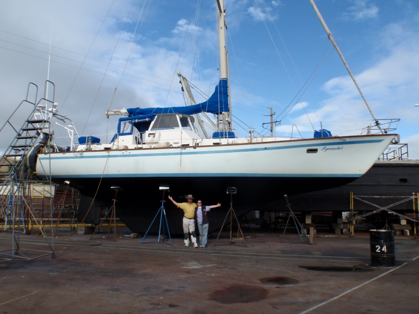Pyewacket II - 51' and not significantly dearer!