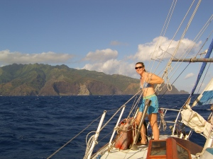Women who sail - that's me!