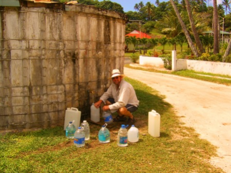 A chore? Not really in beautiful Aitutaki