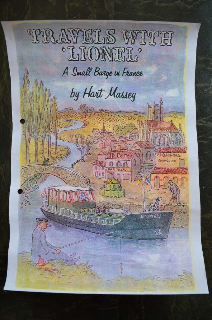 The poster found on board.
