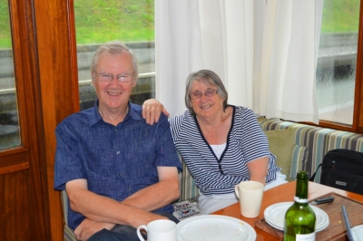Mum & dad - home now in the UK