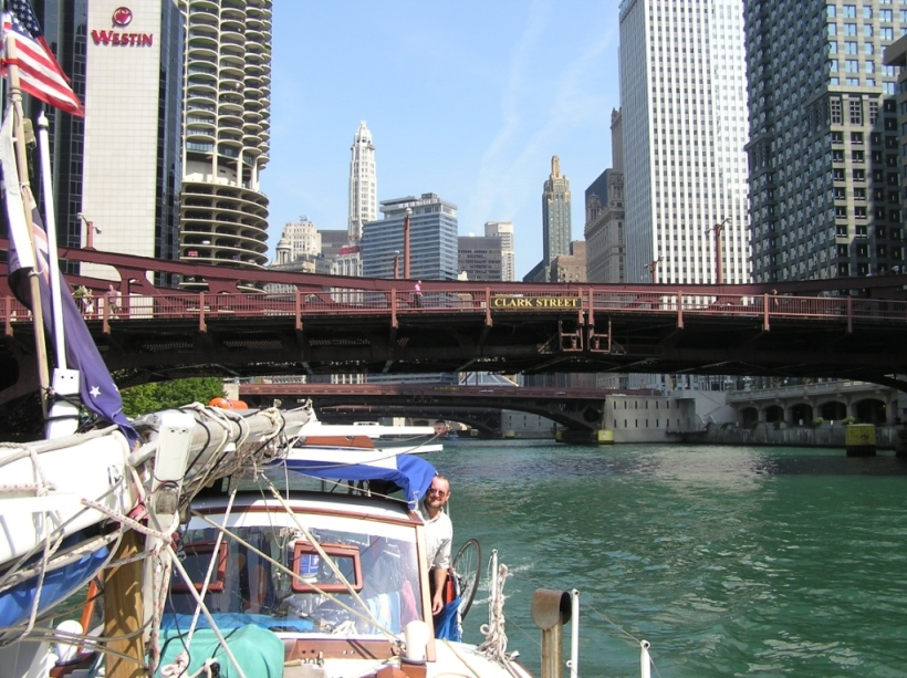 Chicago - the best way to see it, via boat.