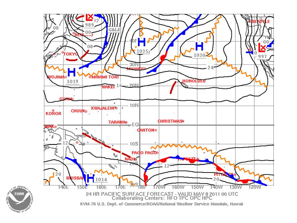 Top tips on weather – how to read a synoptic chart   Jackie