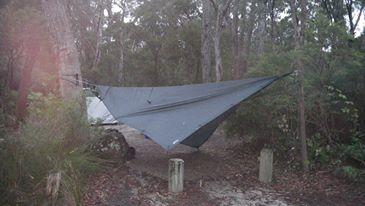 Jeff's cosy camp