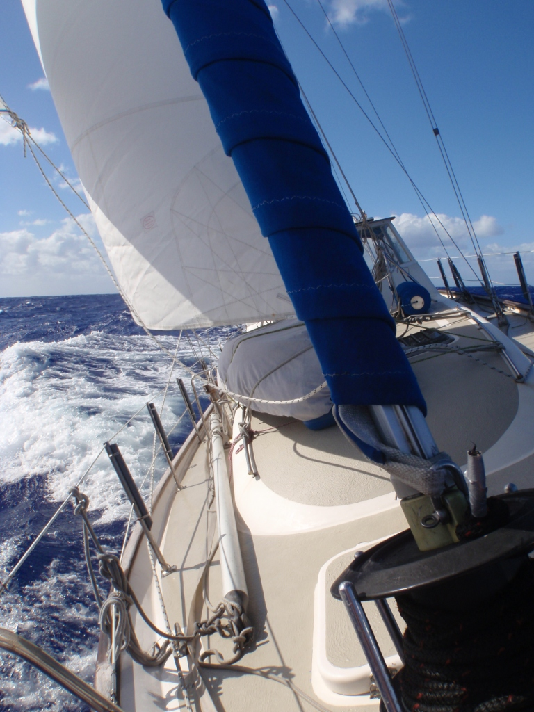 Three difficult weeks at sea, living on a tilting vessel!
